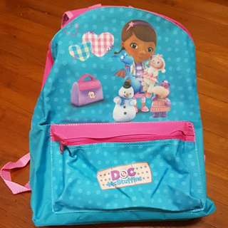 Authentic Disney Doc McStuffins School Bag