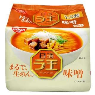 日本日清拉麵 4包