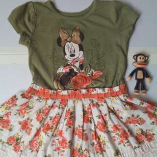 Disney Minnie Dress (3y)