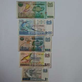 Old Singapore Notes