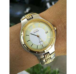 Citizen Eco Drive Gold Platted Ori RARE (Not Seiko Casio Rolex Orient Longiness)