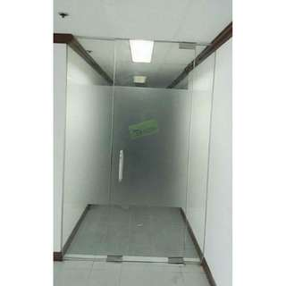 Tempered Glass Office Furniture-Partition-Frameless Glass