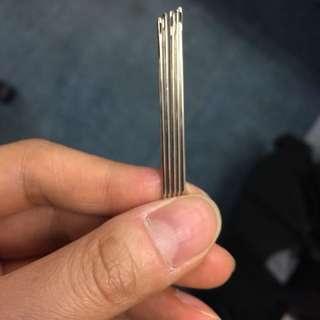 皮革 工具 針