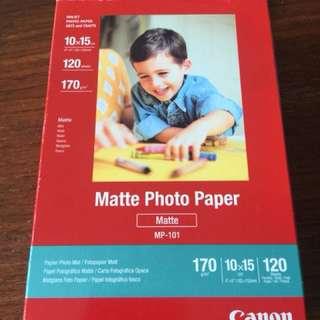 Canon Photo Paper (Matt)