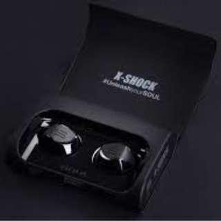 旺角實店銷售全新 SOUL X SHOCK TRUE WIRELESS EARPHONE 香港代理行貨1年原廠保養