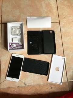 iPhone 6 + plus 128 giga white second BU