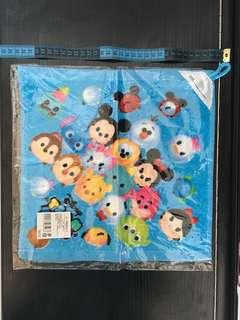 Disney tsum tsum 藍色 毛巾 / 抹手巾
