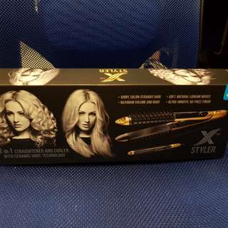 X-Styler 2 in 1 Straightener & Curler