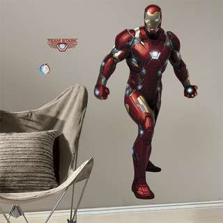 Marvel Iron Man Civil War Giant Wall Decals