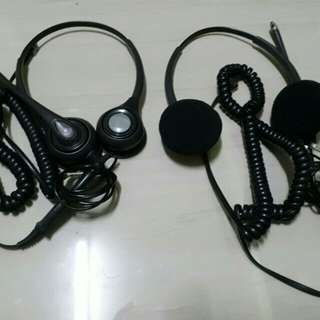 Plantronics Headset for Call Center or Home base