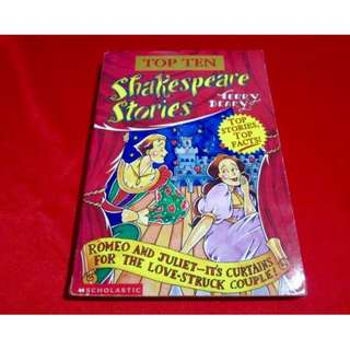 Top Ten: Shakespeare Stories by Terry Deary