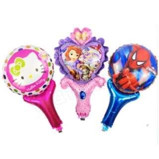 Party Cartoon Handheld Balloon Spider-Man Minions Frozen