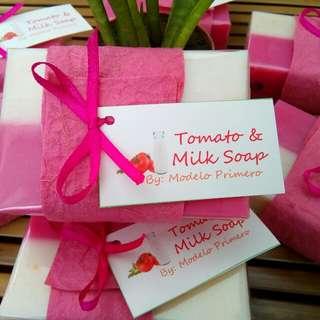 Tomato & Milk Beauty Soap