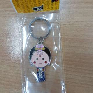 Keychain with mirror. Made in korea.