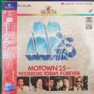 Motown 25 - Yesterday Today Forever Laser Disc