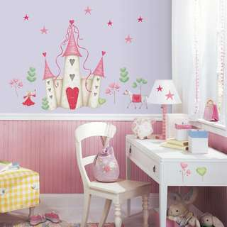 Princess Castle Giant Wall Decal - YH1328M