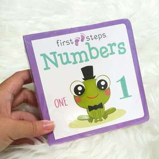 Baby board book - numbers
