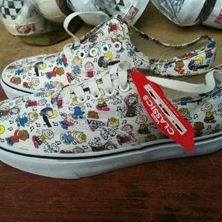 Ready Vans Authentic X peanuts DancReady Vans Authentic X peanuts Dance party