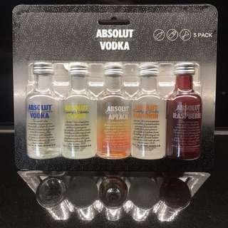 50ml Absolut Vodka gift set 迷你 酒板