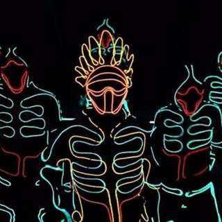 Led dance costume