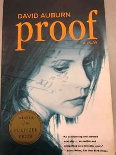 Proof (A Play by David Auburn, Winner of the Pulitzer Prize)