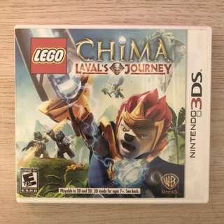 N3DS LEGO Legend of Chima Laval's Journey