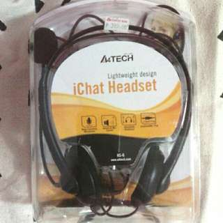 IChat Headset W/ Mic & Noise Cancellation Feature