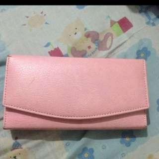 TURUN HARGA!!! Dompet Pink Soft