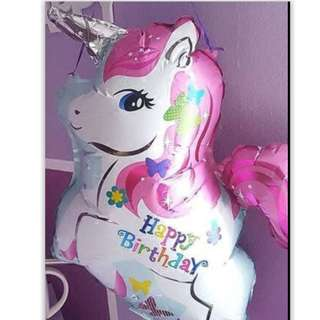Balloon Set - Pink unicorn balloon (Design 2)