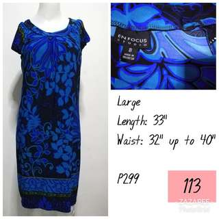Blue En Focus Dress
