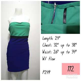 Zinga colorful tube dress