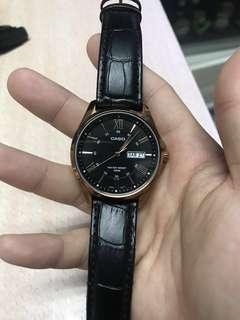 Casio 玫瑰金 手錶 古羅馬數字