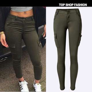 Cotton on zipper jeans