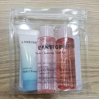 Laneige Cleansing Travel Kit