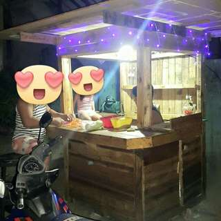 For Sale Rustic Style Wooden Stall