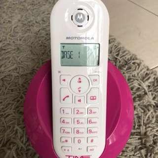 Motorola C601 cordless phone