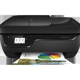 Wireless Printer - HP OfficeJet 3830 All-in-One - Print - Scan- Copy- Fax -WIFI Model