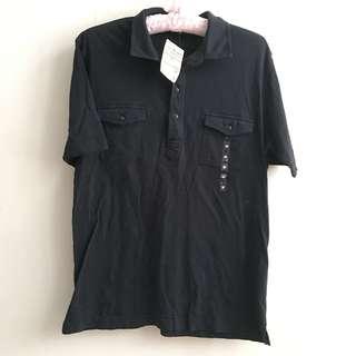 全新 無印muji純棉上衣 Tshirt Polo shirt 運動衫 男女也可