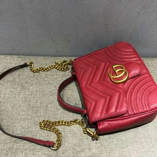 GUCCI BAG (RED)