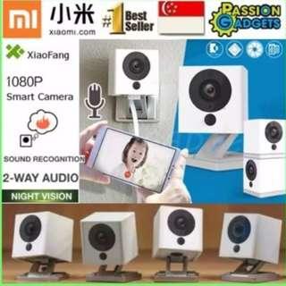 XiaoFang Cube XiaomiIP CCTV / Baby monitor Camera 1080P (Night Vision) Mijia