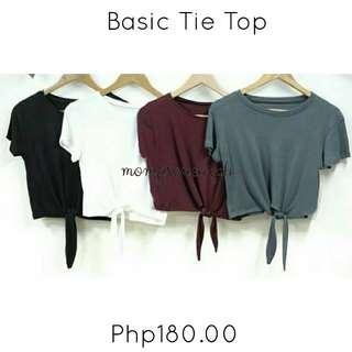 Basic Tie Top