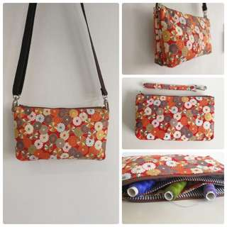 Flora sling pouch