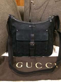 Authentic Gucci Crossbody bag with dustbag