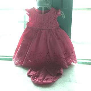 Mothercare dress with bloomers