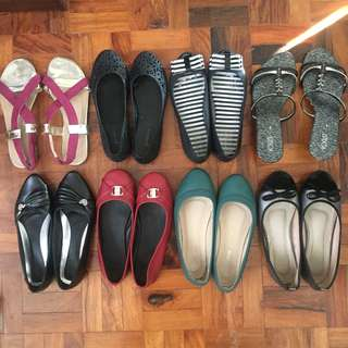 Ladies shoes (250 Take All)