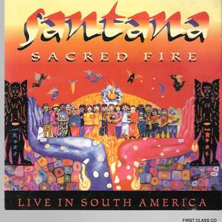 MY PRELOVED CD - SANTANA -SACRED FIRE - RECORDED LIVE DURING SANTANA 1993 S.A. TOUR / FREE DELIVERY (F3P)
