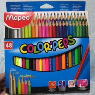 Maped 48 Color Pencils