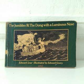 Vintage Book: The Jumblies & The Dong with a Luminous Nose