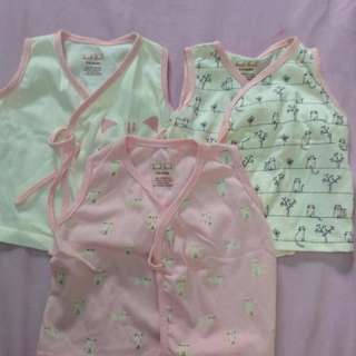 Baby Tie Sides Shirts (Pink)