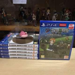 PS4 少女與戰車 戰車夢幻大會戰